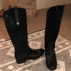 Sam Edelman Suede & Leather Boots